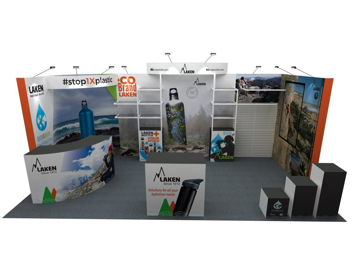 Corporate Branding - Trade Show Booth