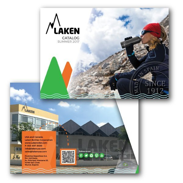 Corporate Branding - Catalog - front and back covers